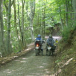 Summer motorcycle route between Tourmalet and Ordesa